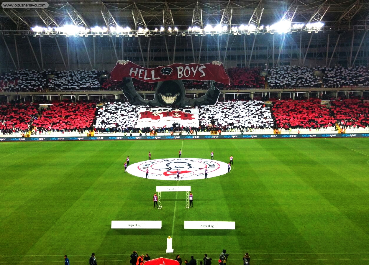 Sivasspor Koreografi Hell Boys