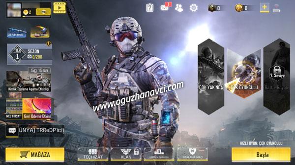 Call of Duty Mobile İndir Android - IOS Türkçe Yükle